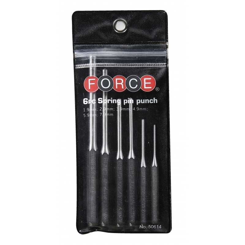 9 pc Roll Pin Pilot Punch 4 pc Hollow End Starter Punch Tool
