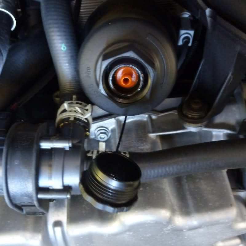 Audi tt 2008 motor oil