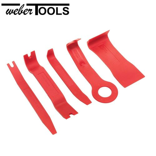 WT-905M1 Fastener and Molding Remover Set 5pc