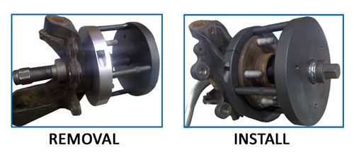 Wt 6063 Gen 2 Wheel Bearing Fitting Removal Tool Kit 216 78mm