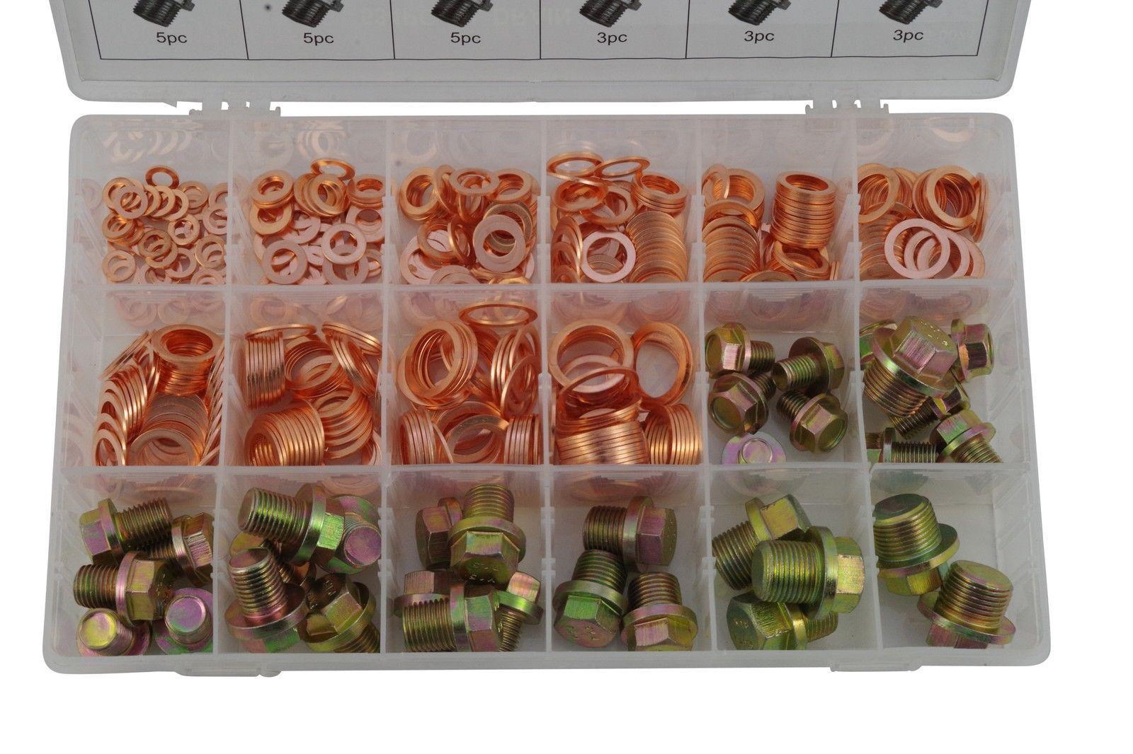 fd 0071 assortiment bouchons de vidange joints cuivre 534 pcs. Black Bedroom Furniture Sets. Home Design Ideas