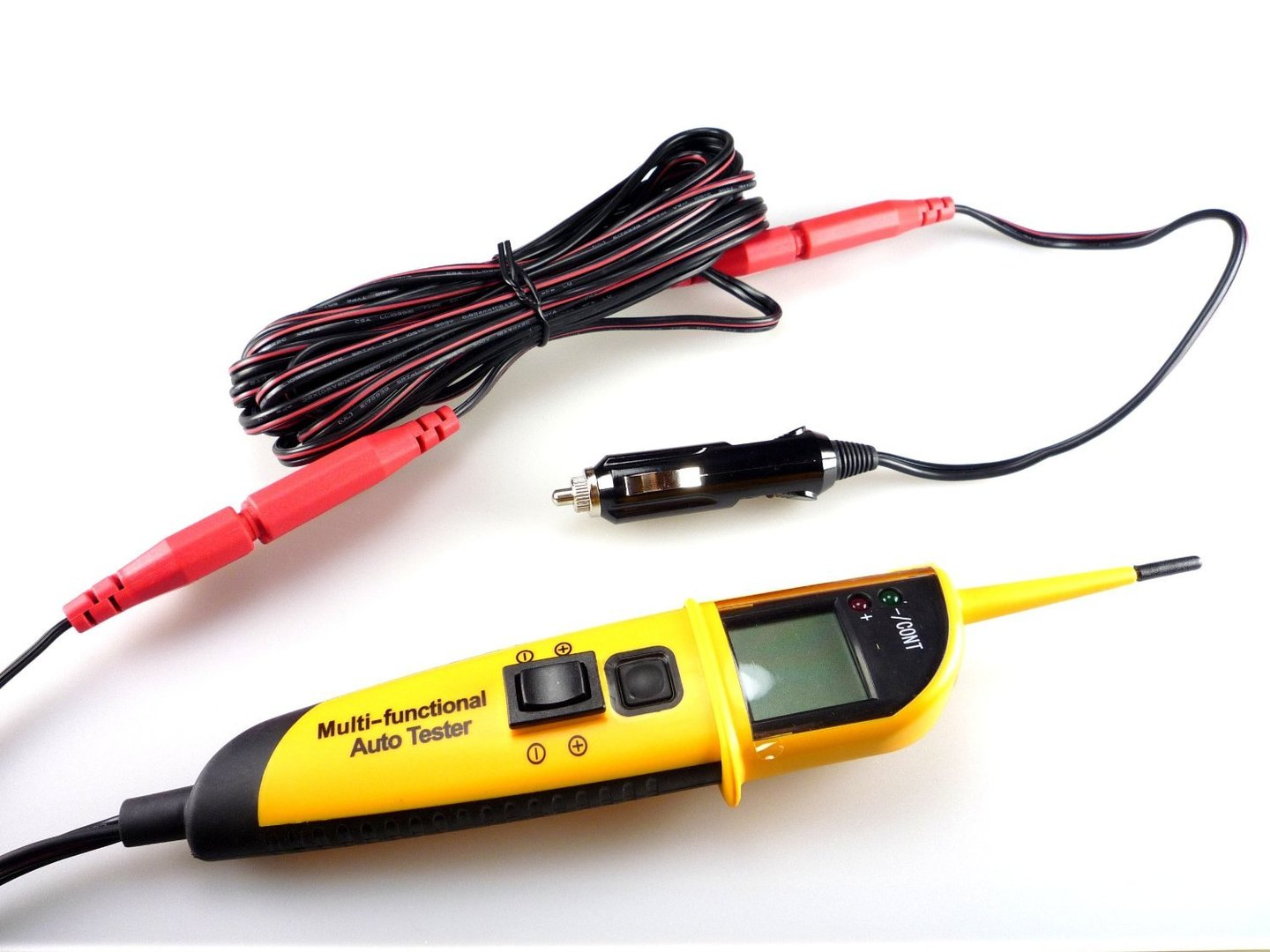 Kd Tools Circuit Testers : Wt multi functional auto circuit tester with lcd display