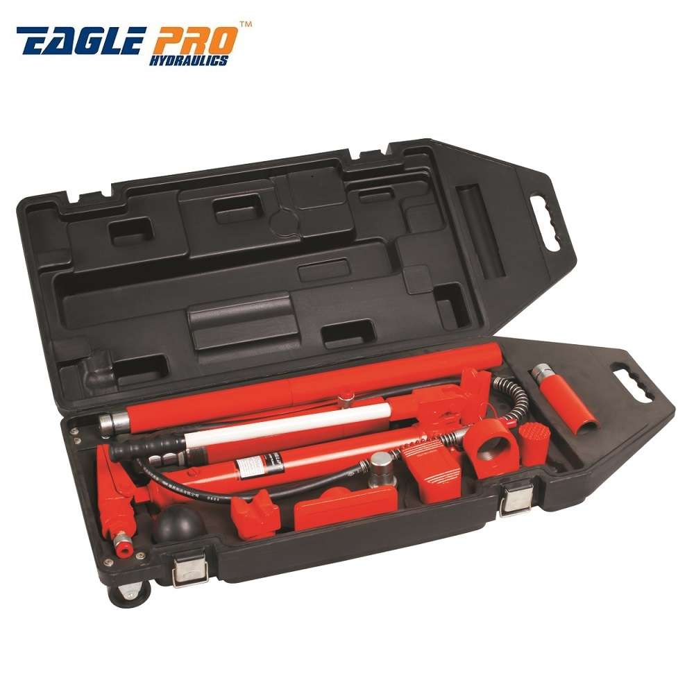 E 8010 Hydraulic Car Body Frame Repair Kit 10 Ton Kepmar Eu