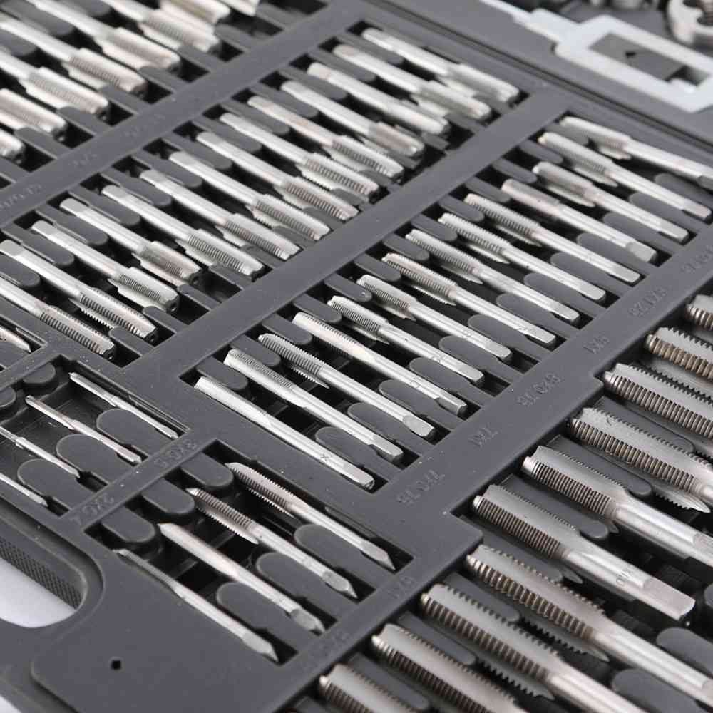 wt2115 metric tap and die set 110pc