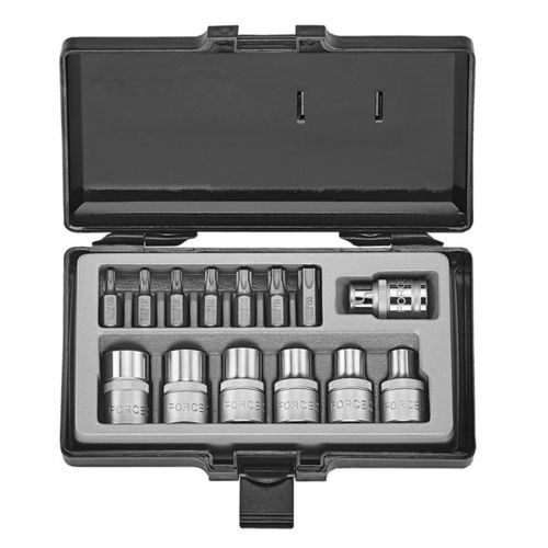 Force 4157 Bit set Torx 14 delig