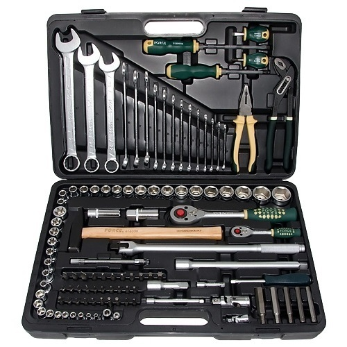 force 41101 werkzeugkoffer gef llt 110 tlg force tools. Black Bedroom Furniture Sets. Home Design Ideas