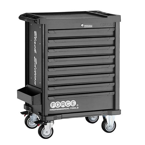 Force 10218M-308 Tool trolley Black Edition 308pc