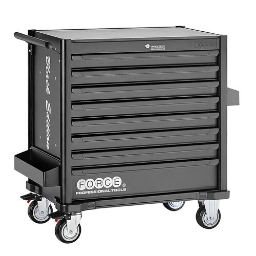 Force 10318M-610 Tool trolley Black Edition 610pc