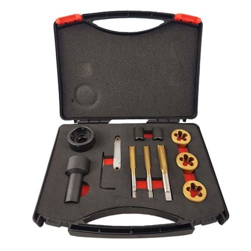 WT-2116 Tap and Die Set for Wheel Studs & Nuts