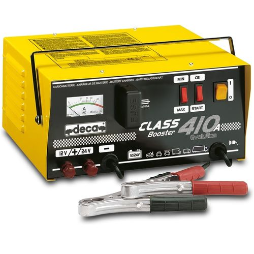DECA 410A Acculader & Booster 500 Amp 12/24 Volt