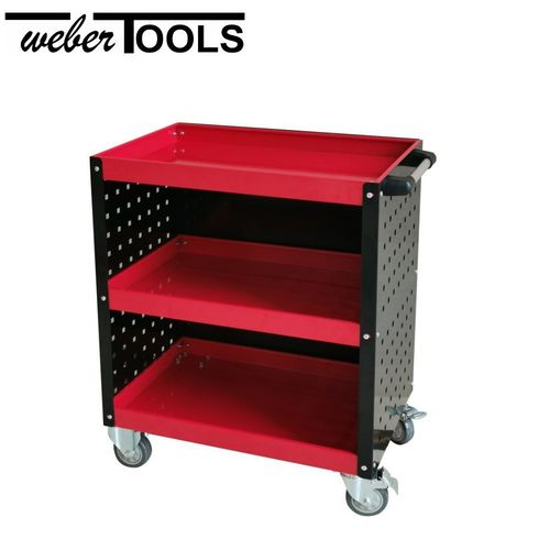 WT-5030 Three Shelf Steel Service Cart